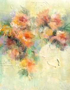 """Original art for sale at UGallery.com   Spring Fever by Karen Hale   $375   acrylic painting   14"""" h x 11"""" w   http://www.ugallery.com/acrylic-painting-spring-fever-34170"""