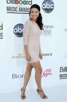 Jordin Sparks arrives at the 2012 Billboard Music Awards held at the MGM Grand Garden Arena in Las Vegas, Nevada.   Photo by: Getty Images