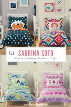Sabrina Soto Children's Bedding Collection at Target | Growing up Madison
