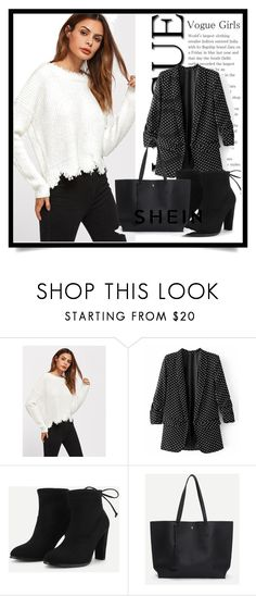 """SheIn 9/V"" by amina-haskic ❤ liked on Polyvore featuring shein"