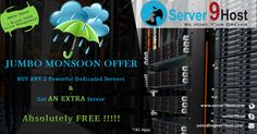 #Dedicated Server Offers #Jumbo Monsoon Offer    Visit us to know more:    Browse : www.server9host.com    Email    :sales@server9host.com    Skype   :server9host