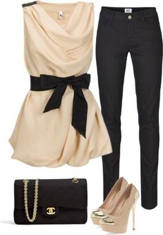 80 Elegant Work Outfit Ideas in 2017 - Are you looking for catchy and elegant work outfits? We all know that there are several factors which control us when we decide to choose something to... - work-outfit-ideas-2017-46 .
