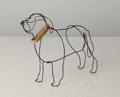 Bridget Baker Sculptor at Stockbridge Gallery Dogs in Art