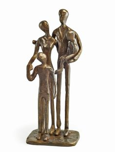 Because the holidays are  wonderful times for family.  Here's an opportunity to honor family with this beautiful bronze family sculpture by Danya B.
