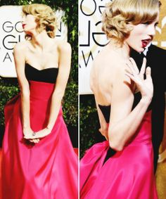 Taylor at the Golden Globe 2014