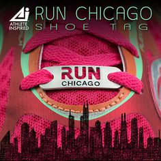 Show your love for running in Chicago with this unique RUN CHICAGO shoe tag. From running with your friends in a weekend 5k to completing the famous Chicago Marathon or something in between, this accessory will be an inspiration to you every time you lace up. A RUN CHICAGO shoe tag makes a great running gift. For yourself or running partner!