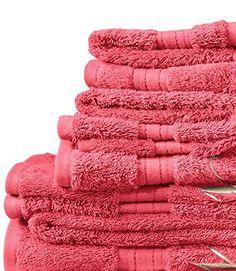 Lands End - Cameo Blush Pink - Supima Towel Set - 6 Piece Set