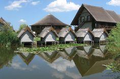 The Danube Delta, Romania - Sfantu Gheorghe Green Village complex  http://www.greenvillage.ro/