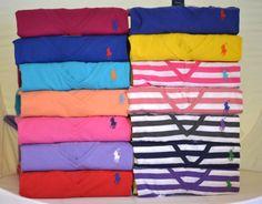New Polo Ralph Lauren Women Cotton V Neck Short Sleeve T Shirt Tee   eBay