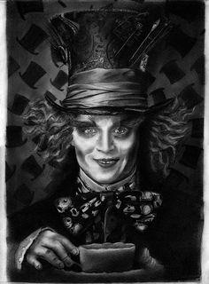 Mad Hatter - Johnny Depp by Bobby-Sandhu.deviantart.com on @DeviantArt