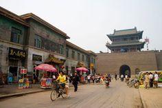 Die Ming- und Qing Straße war das Geschäftszentrum von Pkingyao, deren Häuser in Ming und Qing Stil erbaut und bis heute gut erhalten geblieben sind.