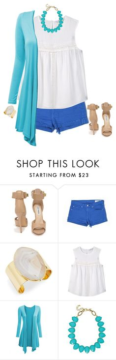 """""""Untitled #127"""" by rosemarylopez-1 ❤ liked on Polyvore featuring Steve Madden, rag & bone/JEAN, Diane Von Furstenberg, MANGO, Doublju and Towne & Reese"""