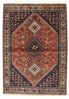ヤラメー 絨毯 155x108