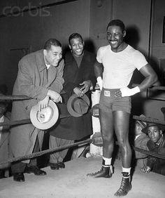 Louis Charles and Robinson Sugar Ray Robinson, Jack Johnson Boxer, Boxe Mma, Boxing Images, Afro, Boxing History, Joe Louis, Boxing Champions, Sport Icon