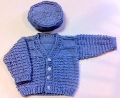 Bottom-Up Blue Boy Knitting pattern by MADuNaier - Knitting For Kids Knitting Patterns Boys, Christmas Knitting Patterns, Baby Patterns, Knitting For Charity, Knitting For Kids, Free Knitting, Baby Boy Cardigan, Baby Scarf, Knit Baby Sweaters