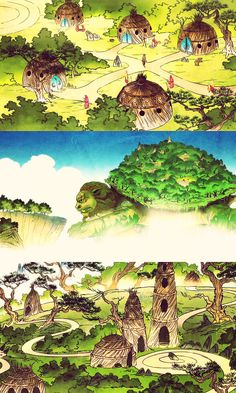 1st Avatar airbender nation I wonder where the giant turtles went to, when they left?