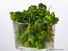 Como cozinhar Brocoli (Brócolos) no (ao) vapor em 2 minutos