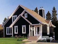 Vue avant Cottage populaire, 3 chambres, mezzanine, foyer, espace ouvert - Rosemont