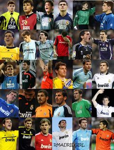 Iker so cute and great goal keeper even if he plays for Madrid