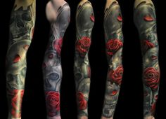 really love the more traditional and realism together.  like the new school style but not on me