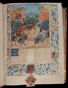 Monnikenwerk en Engelengeduld - Expositie MAGNIFIEKE MIDDELEEUWEN in Museum Plantin-Moretus, een verslag van Jacques Nagelkerke. (JEAN FROISSART c.13337- 1410)