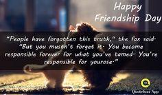 #FRIENDSHIPDAY  #FRIENDSHIPQUOTES #QUOTEFUZZ
