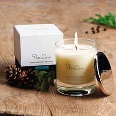 Pine Cone Signature Candle - Candles | The White Company