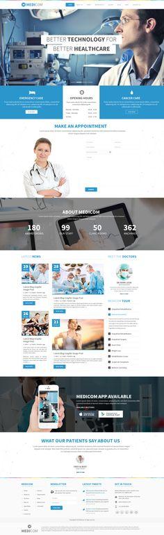 Medicom by Webatic, via Behance