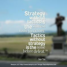 Strategy vs Tactics: Slow Route to Victory or Noise Before Defeat?