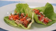 <p>Based on a popular Chinese recipe, these Asian lettuce wraps are healthy appetize</p>