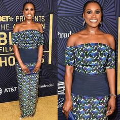 "427 Likes, 3 Comments - BellaNaijaStyle (@bellanaijastyle) on Instagram: ""Issa in Lisa! Insecure's @IssaRae in @LisaFolawiyo_Studio's S/S 17 Cummerbund dress"""