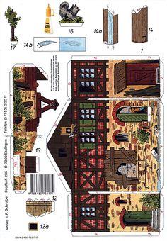 Romantic Old Mill - PaperModelKiosk.com