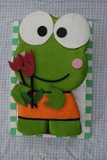 Keroppi Cake - Frog Cake