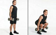 Como fazer agachamentos com halteres. O universo dos agachamentos é praticamente infinito. Encontramos uma grande quantidade de variáveis deste exercício com o qual se trabalham principalmente os músculos das pernas, além dos glúteos e in...