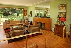 An Intact Mid-Century Ranch House