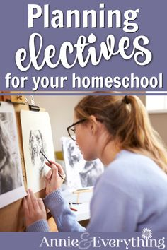 Planning high school electives for your homeschooled teen is nothing to stress over. Here is all you need, including ideas and curriculum suggestions. High School Curriculum, Homeschool Curriculum Reviews, Elementary Schools, Homeschooling Resources, School Info, School Fun, Middle School, School Stuff, School Ideas