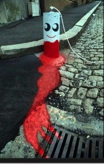 Adorable Tampon Graffiti Is The Most Adorable