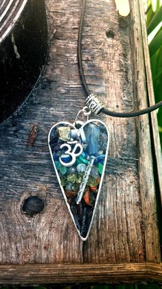 Chakra Stimulating and Clearing Orgone Heart Pendant by VibrantSoulWellness on Etsy