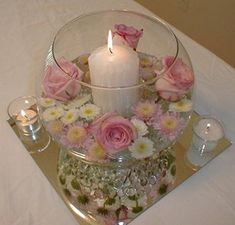 Pretty wedding favours or table decorations - vintage teacup candles! If I didn't already have my favours in order, I'd be hitting up every place I could get teacups, because that's just adorable. Wedding Favor Table, Wedding Favours, Barn Wedding Decorations, Table Decorations, Mirror Centerpiece, Centerpieces, Vintage Flower Arrangements, Purple Mason Jars, Wedding Planning Quotes