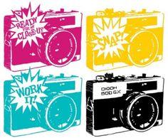 Freebie | Camera Graphics from Stephanie Corfee,  Scrapbooking | CraftGossip.com