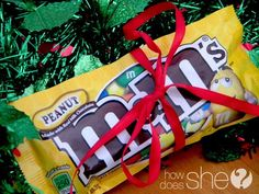 Neighbor Gift Ideas that Won't Stress You Out - M&M wisemen