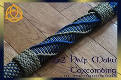 coxcombing patterns paddles paracord