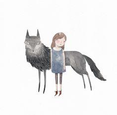Julianna Swaney | wolf & girl 1 |