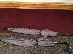 Gray umbrella: 2