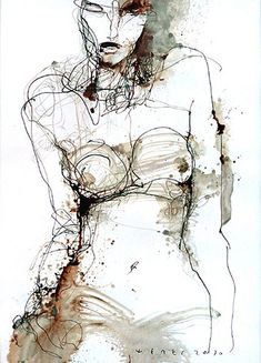Viktor Sheleg, - it a way this work reminds me to Egon Schiele's, do you reckon?