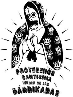 The Anarchist Tarot Protest Posters, Political Posters, Arte Latina, Gas Mask Art, Art Zine, Riot Grrrl, Desenho Tattoo, Brand Story, Mexican Art