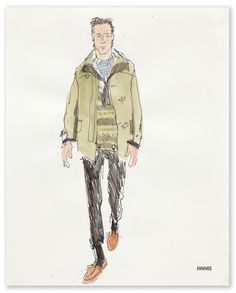 Richard Haines - Untitled 4 (A/W 2011 Men's Collections) for New York Times T Blog