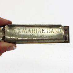 Marine Band Harmonica. Hohner Harmonicas. 1930s musical instrument By CallMeCleverVintage on Etsy, $20.00