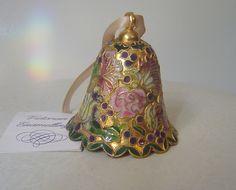 Imperial Bell Victorian Treasures Enamelling Enamel Bell  $15.95