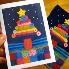Crochet Christmas Card Tutorial Attic24.typepad.com